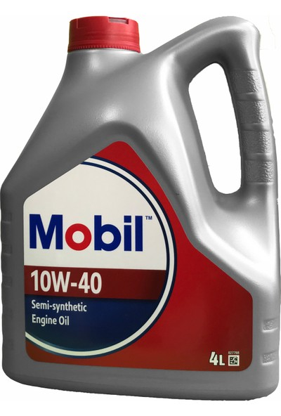 Mobil 10W/40 10W/40 Semi-Synthetic 4 Lt