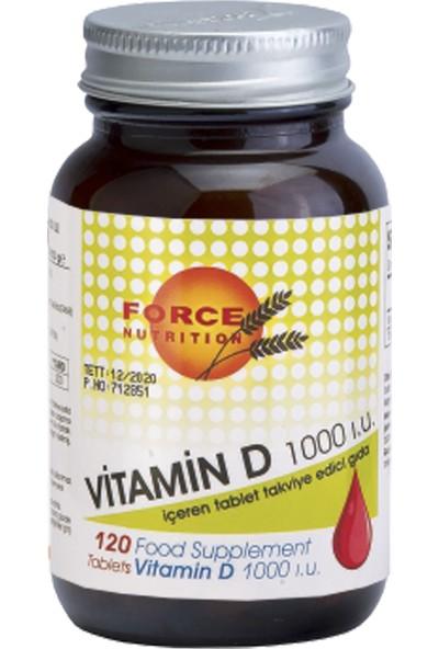 Meka Nutrition Force Nutrition Vitamin D 120 Tablet