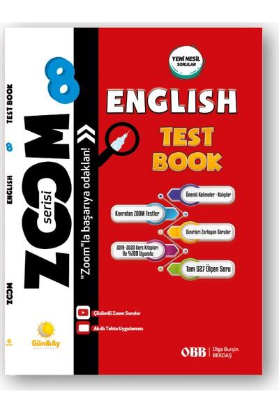 Günay Yayınları 8.Sınıf Zoom Serisi Soru Bankası İngilizce
