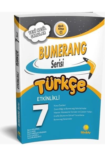 Günay Yayınları 7.Sınıf Bumerang Etkinlikli Kitap Türkçe