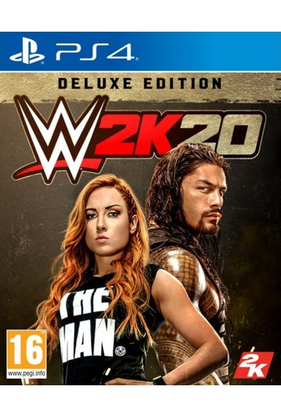 WWE 2K20 Deluxe Edition PS4 Oyun