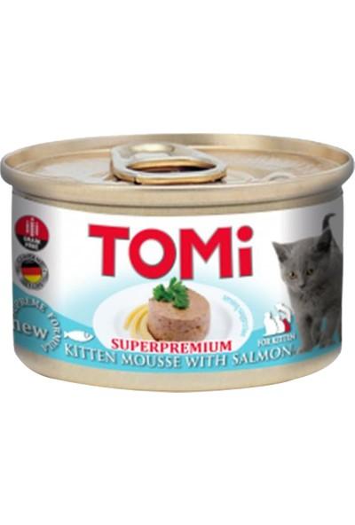 Tomi Superpremium Somonlu Tahılsız Yavru Kedi Konservesi 85 g