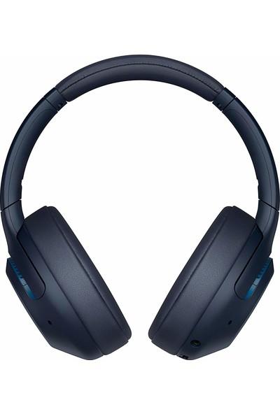Sony WH-XB900N.CE7 Gürültü Önleyici Kablosuz Kulaküstü Kulaklık Mavi