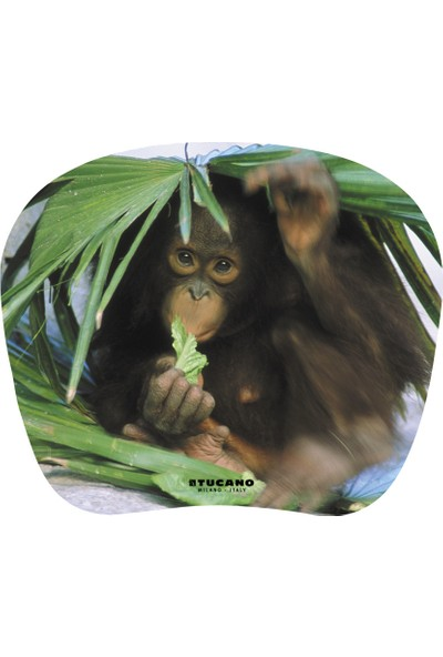 Tucano MPBOX-REF-28 Natura Mouse Pad Yavru Maymun