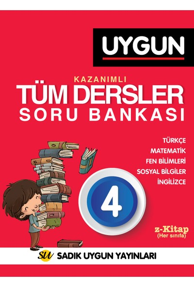 4.Sınıf Sbs Tüm Dersler Kazanımlı Soru Bankası / Uygun Yay.-Komisyon