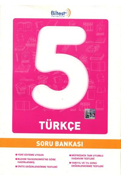 Biltest Yayıncılık 5.Sınıf Türkçe Soru Bankası 2019