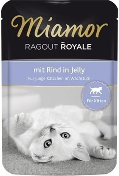 Miamor Ragout Sığır Etli 100 gr Yavru Kedi Yaş Maması 6'lı Paket