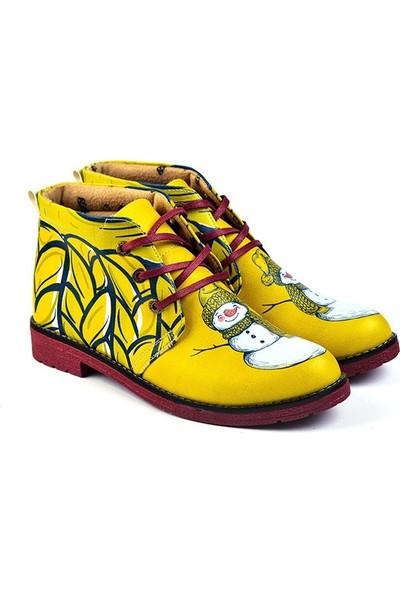 Goby - Varya Kadın Tasarım Bot Sarı