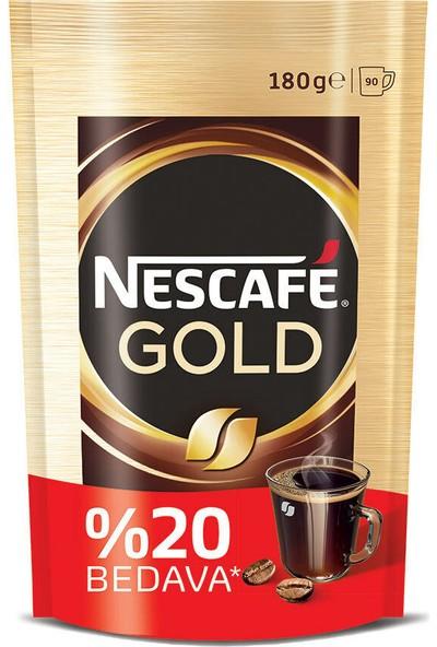 Nescafé Gold Çözünebilir Kahve 150 gr Ekopaket