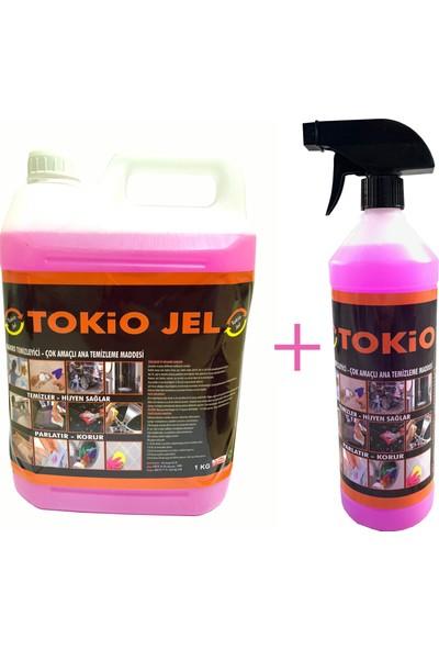 Tokio Çok Amaçlı Genel Temizleyici Leke Çıkarıcı 5 Litre Bidon + 1 Litre Sprey