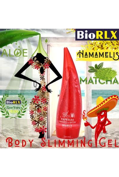 Biorlx Aloe Vera+Paprika+ Hamamelis +Matcha ( Selülit ve Sıkılaştırıcı )Jel 250 ml