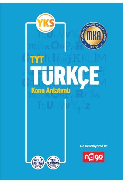 Nego Yayınları TYT Türkçe Konu Anlatımlı