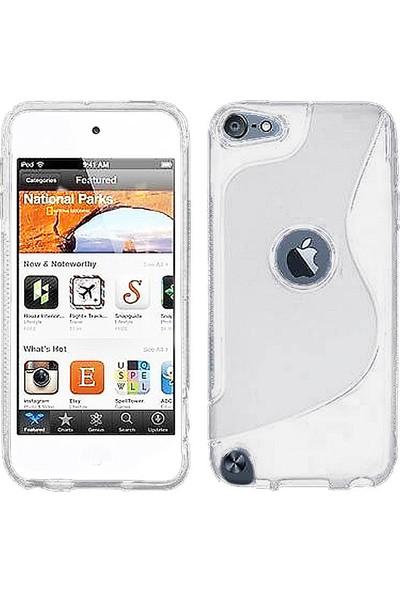 Microcase Apple iPod Touch 7 S Line Serisi Soft Elastik Silikon Tpu Kılıf - Şeffaf
