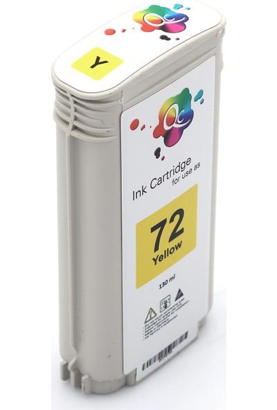 QC Hp 72 C9373A Kartuş 130 ml Sarı