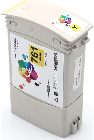 QC Hp 761 Cm992A Kartuş 400 ml Sarı