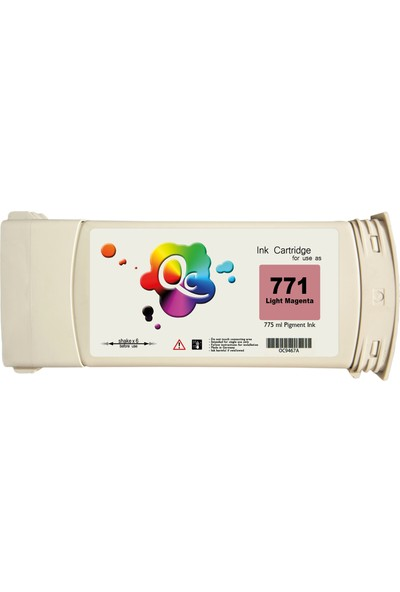 QC Hp 771 B6Y11A Kartuş 775 ml Kırmızı