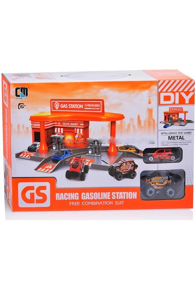 Can Em Benzin İstasyonu Seti CM559-52B