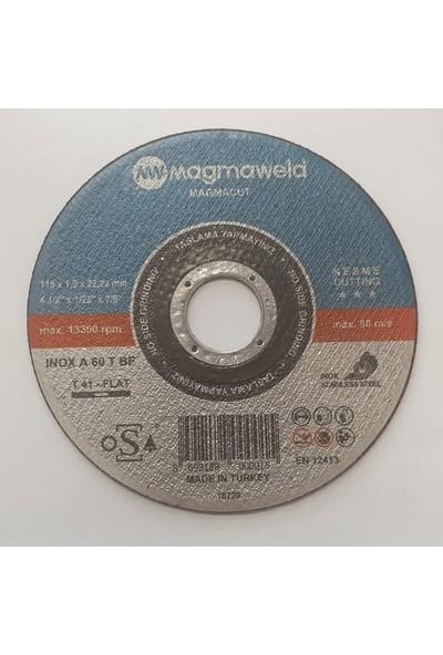 Magmaweld Inox Thinline 115 x 122 mm Paslanmaz Kesme Taşı