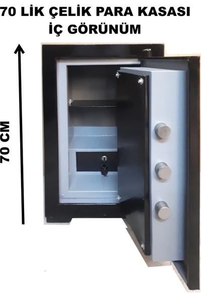 U.S.F Para Kasası 70 cm -115 kg Çelik Para Kasası