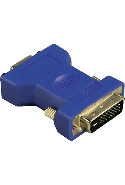 Hama 45073 Ada DVI PLUG VGA Soket Ses Video Adaptörü