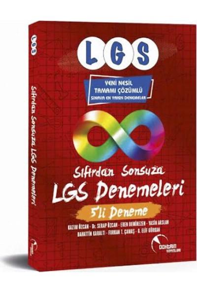 Doktrin Yayınları Sıfırdan Sonsuza LGS Denemeleri