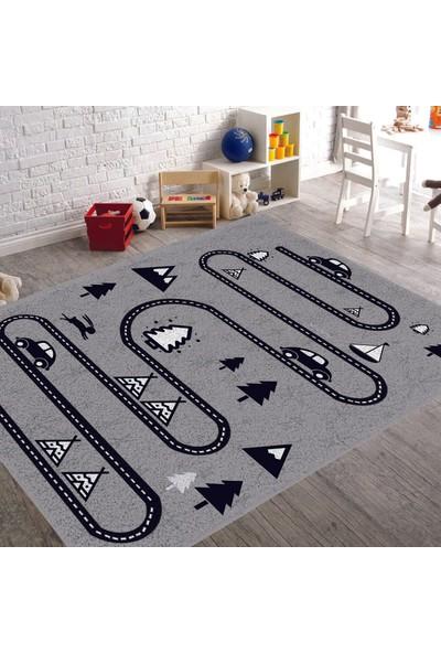 Veronya Yol Desen dokuma Halı kalın Çocuk Odası Halısı 180 x 280 cm