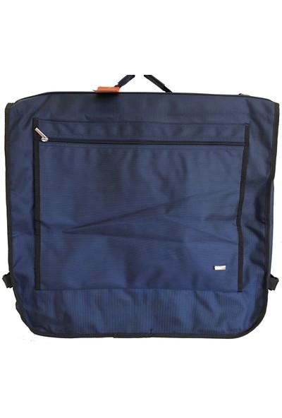 Kingstone Unisex Takım Elbise Taşıma Çantası 4016 Lacivert -4 Takım Taşıma Kapasiteli