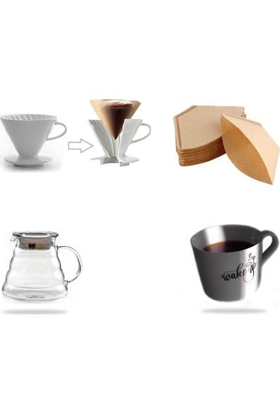 Epinox Barista Drip Filter Coffee Set-1 (4'lü Set)