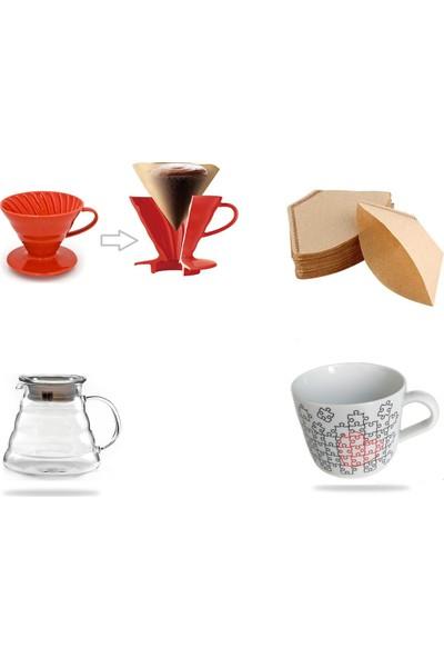 Epinox Barista Drip Filter Coffee Set-2 (4'lü Set)