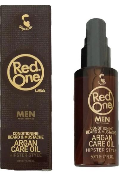 Red One Argan Sakal - Bıyık Bakım Yağ 50 ml