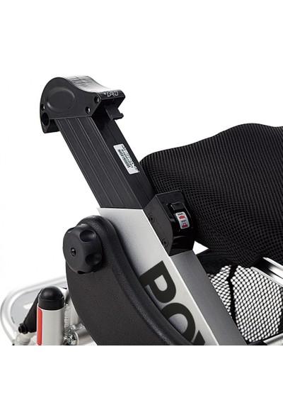 Poylin P207 Katlanır Ultra Hafif Akülü Tekerlekli Sandalye