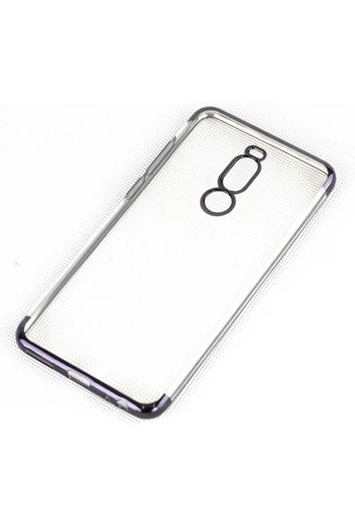 Fiber Aksesuar Meizu Note 8 Silikon Kılıf Siyah + Nano Esnek Ekran Koruyucu