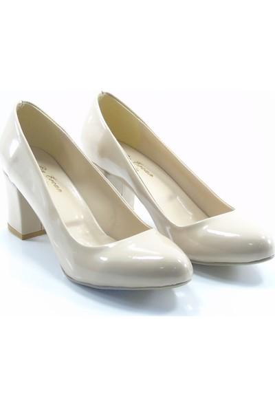 By Ercan Ten Rugan Topuklu Kadın Ayakkabı