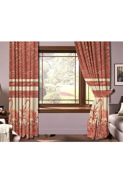 Sare Home Dijital Baskılı Fon Perde PR1010