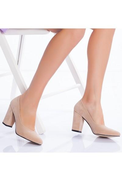 Daxtors D710 Kadın Günlük Klasik Topuklu Ayakkabı