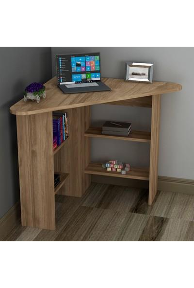 Arnetti Corner Çalışma Masası-Ceviz