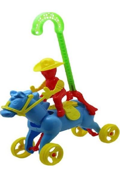 Kette Plastik Sopalı Atlı Kovboy