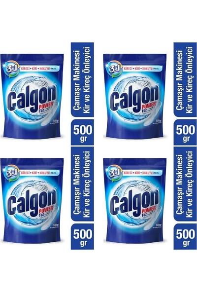 Calgon Çamaşır Makinesi Kireç Önleyici Toz 4 x 500 gr
