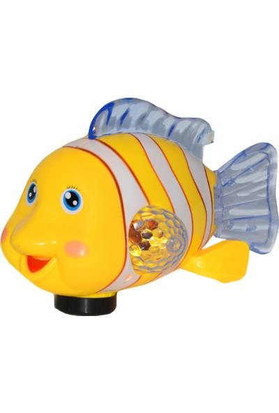 Can Oyuncak Pilli Işıklı ve Sesli Balık