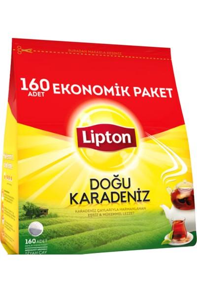 Lipton Doğu Karadeniz Demlik Poşet Çay 160'li