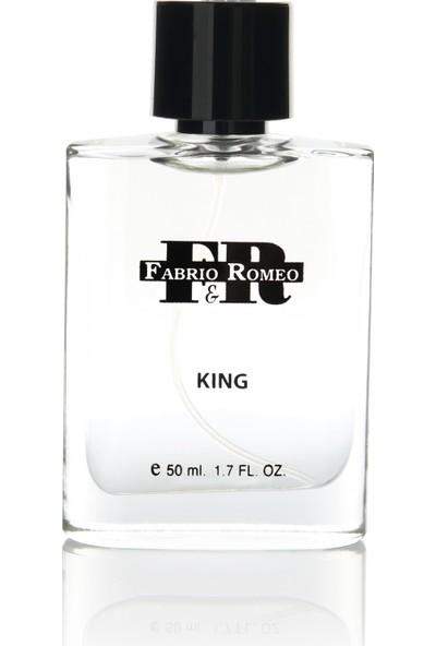 Fabrio&Romeo Kıng Çekici Edp 50ML Erkek Parfüm