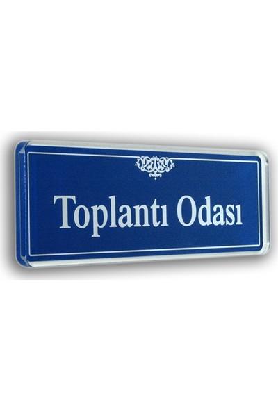 PassPano Akrilik Kapı Isimlik TOPLANTI ODASI 6,5 x 20 cm