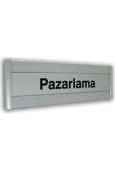 PassPano Alumınyum Kombi Levha PAZARLAMA 8 x 25 cm