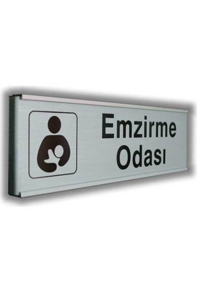 PassPano Alumınyum Plate Levha EMZİRME ODASI 7 x 25 cm