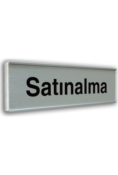 PassPano Alumınyum Plate Levha SATINALMA 7X25 cm