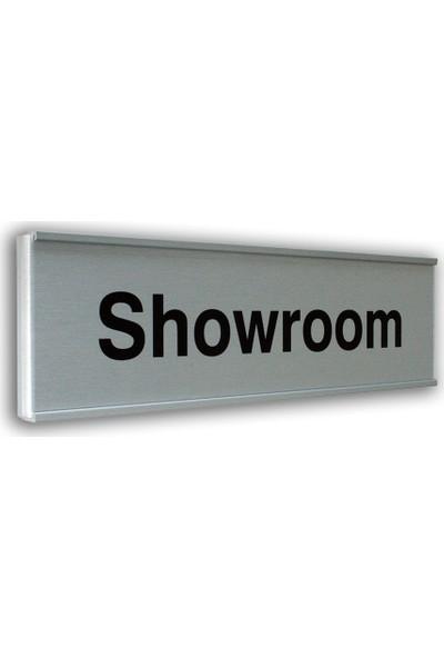 PassPano Alumınyum Plate SHOWROOM 7X25 cm