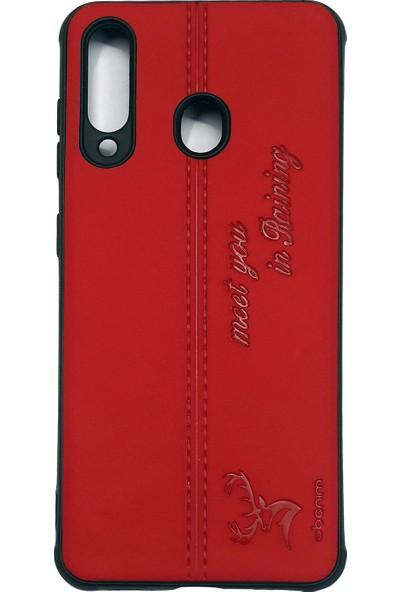 Ercan İletişim Samsung Galaxy M40 Silikon Kılıf Kırmızı