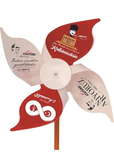 İnci Balon Atatürk'ü Anma Günü 10 Kasım Rüzgargülü 50'li Paket