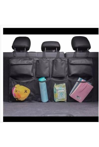Boss Oto Organizer Bagaj Eşya Düzenleyici 8 Cepli Koltuk Arkası Bagaj Çanta