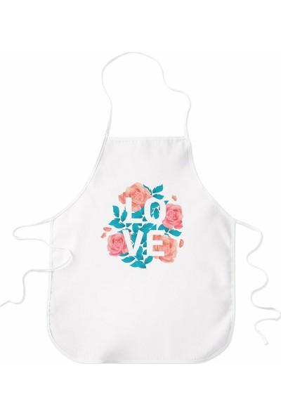 Wuw Love Güllü Mutfak Önlüğü